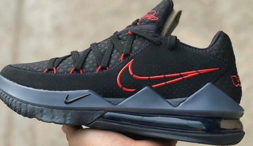 Nike LeBron 17 Low Black University Red