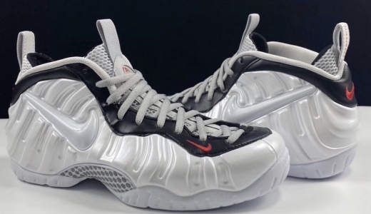 Nike Air Foamposite Pro White Black University Red