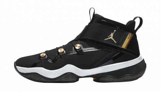 Jordan AJNT23 Black Metallic Gold