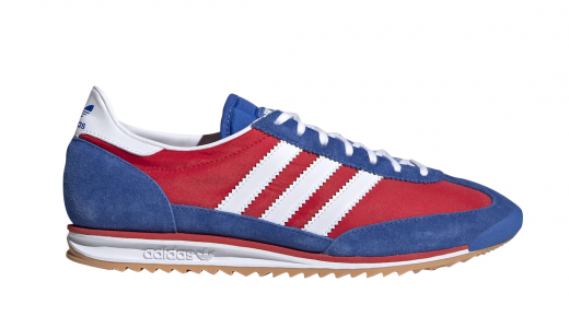 Lotta Volkova x adidas SL 72 Red Blue