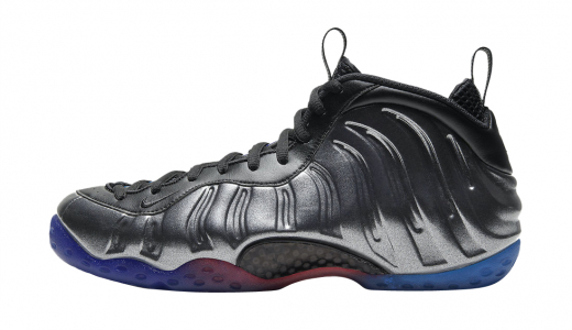 Nike Air Foamposite One Gradient Soles (Black Team Royal)