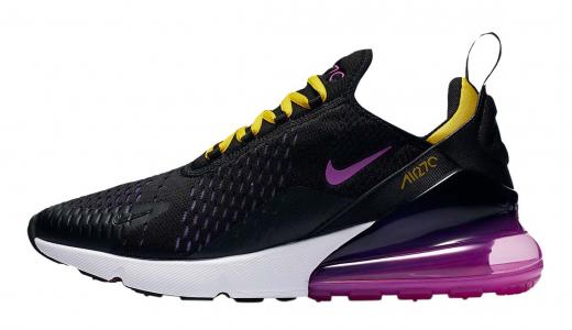 Nike Air Max 270 Black Hyper Grape