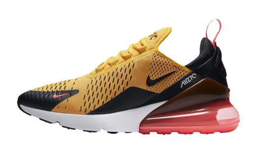 Nike Air Max 270 Black University Gold