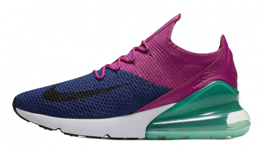 Nike Air Max 270 Flyknit Fuchsia Flash