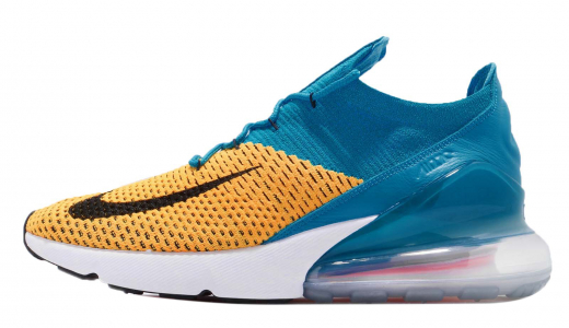 Nike Air Max 270 Flyknit Laser Orange