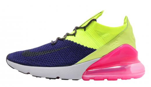 Nike Air Max 270 Flyknit Regency Purple Thunder Grey