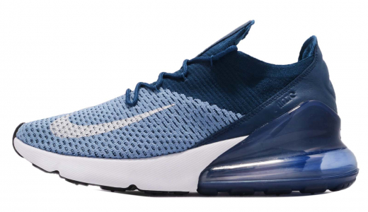 Nike Air Max 270 Flyknit Work Blue