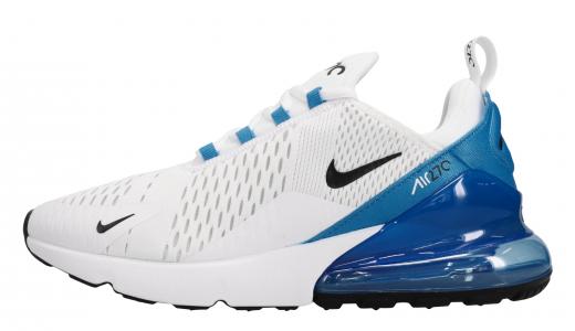 Nike Air Max 270 White Black Photo Blue
