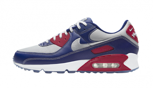 Nike Air Max 90 Pirate Radio Blue Red