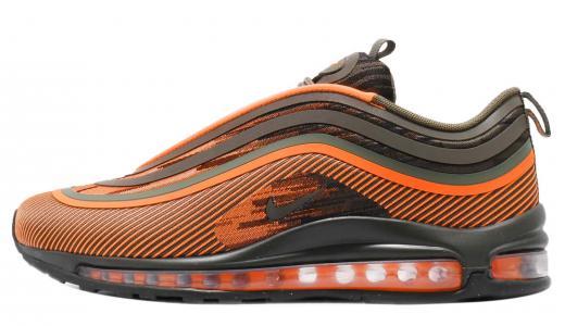 Nike Air Max 97 Ultra 17 Total Orange Medium Olive