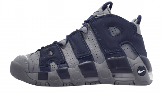 Nike Air More Uptempo GS Cool Grey Midnight Navy