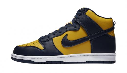 Nike Dunk High Michigan 2020