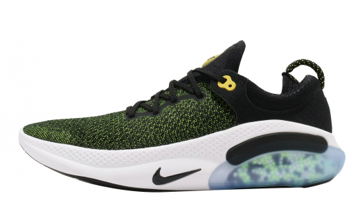 Nike Joyride Run Flyknit Black Opti Yellow