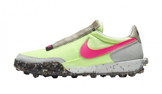 Nike Waffle Racer Crater WMNS Barely Volt