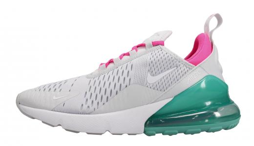 Nike WMNS Air Max 270 Pure Platinum White Pink Blast