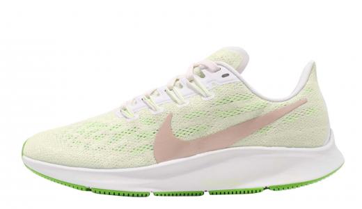 Nike WMNS Air Zoom Pegasus 36 Phantom Bio Beige Barely Volt