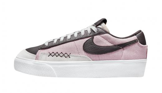 Nike WMNS Blazer Low Platform Pink Glaze