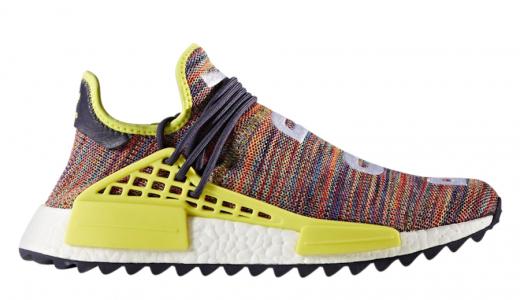 Pharrell x adidas NMD Hu Trail Multicolor