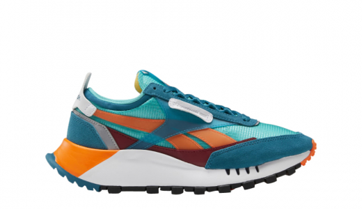 Reebok Classic Leather Legacy WMNS Timeless Teal Solar Orange