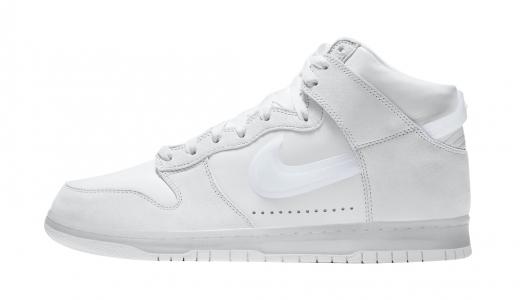 Slam Jam x Nike Dunk High White Pure Platinum