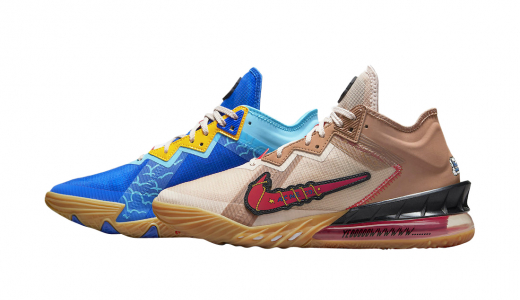 Space Jam x Nike LeBron 18 Low Wile E. x Roadrunner