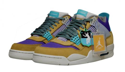 Union x discount nike hyperdunk basketball shoes on sale Desert Moss